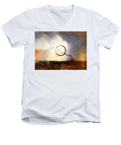 Sphere I Turner Men's V-Neck T-Shirt