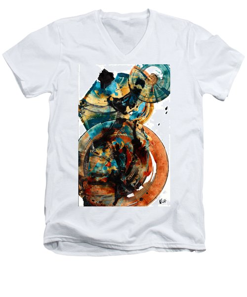 Spherical Joy Series 208.012011 Men's V-Neck T-Shirt
