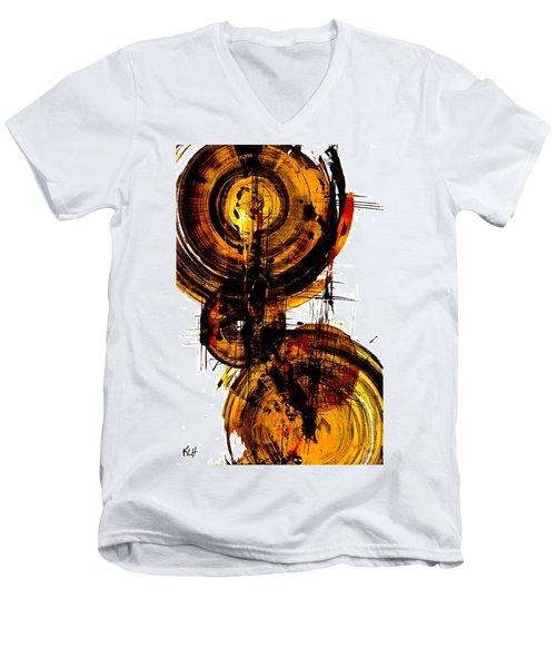 Spherical Joy Series 51.041011vsscvs Men's V-Neck T-Shirt by Kris Haas