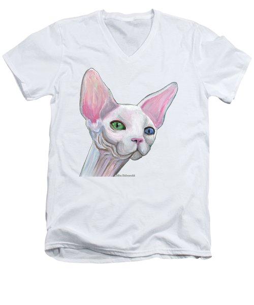 Sphynx2 Men's V-Neck T-Shirt