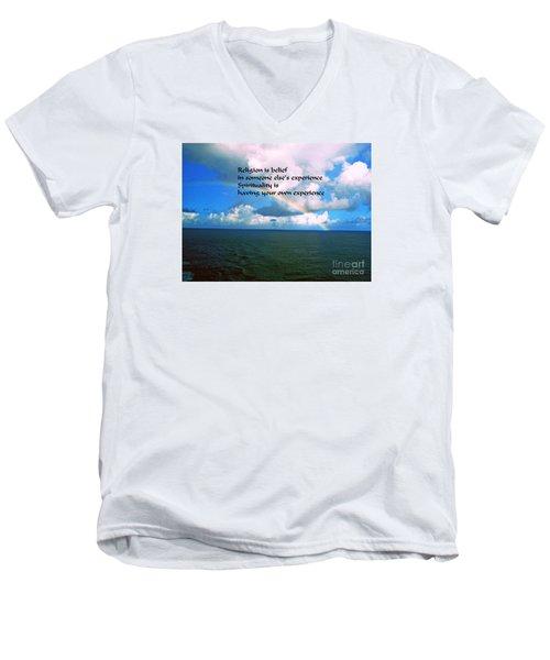 Spirituality Men's V-Neck T-Shirt