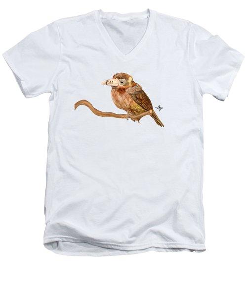 Spot-billed Toucanet Men's V-Neck T-Shirt
