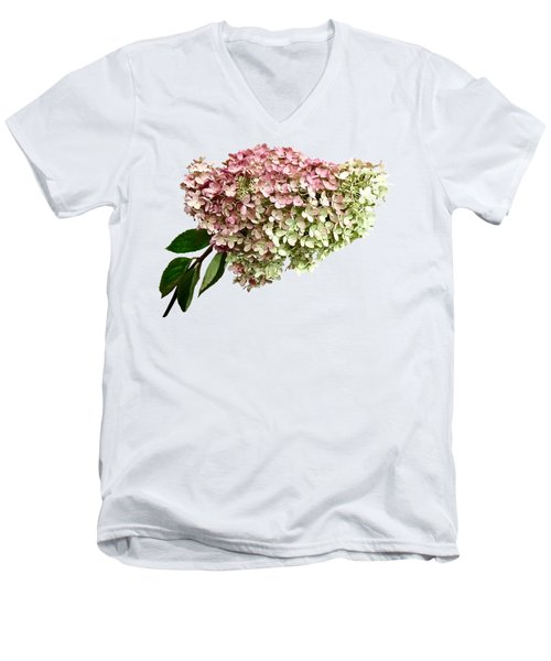 Sprig Of Hydrangea Men's V-Neck T-Shirt