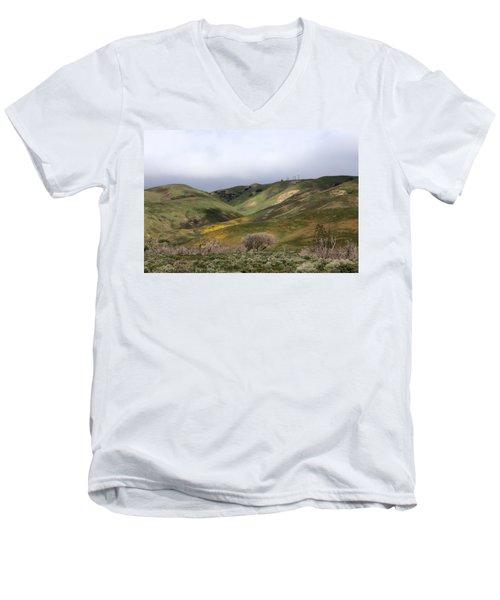 Spring At Door Men's V-Neck T-Shirt