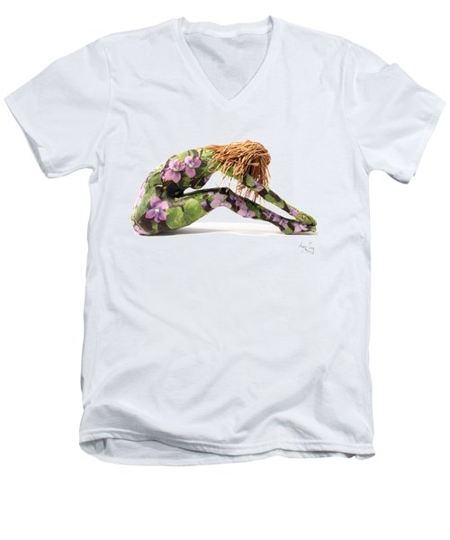 Spring Awakens Men's V-Neck T-Shirt