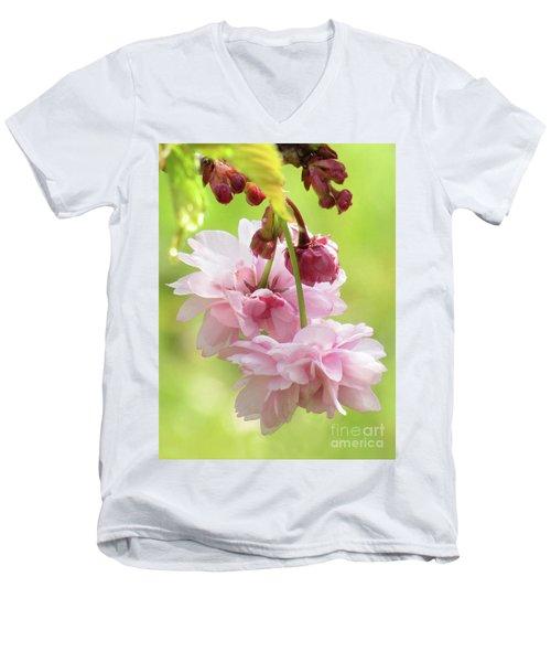 Spring Blossoms 8 Men's V-Neck T-Shirt