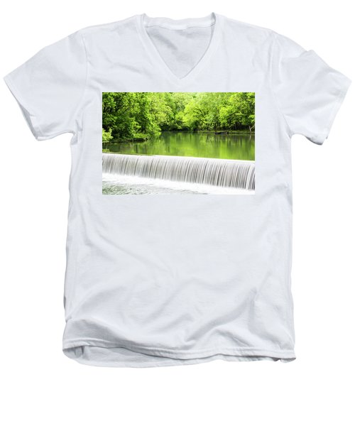 Men's V-Neck T-Shirt featuring the photograph Spring Days In Helena by Parker Cunningham