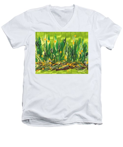 Spring Garden Men's V-Neck T-Shirt