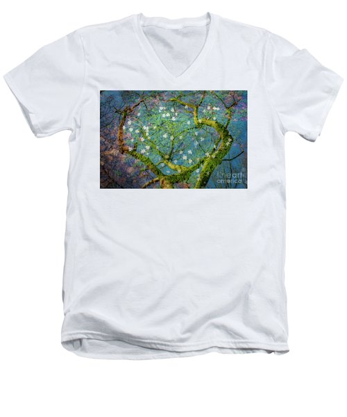 Spring Is In The Air-1 Men's V-Neck T-Shirt