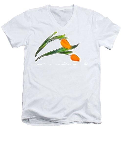 Spring Messenger Men's V-Neck T-Shirt