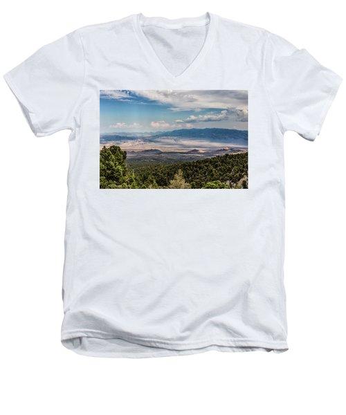 Spring Mountains Desert View Men's V-Neck T-Shirt