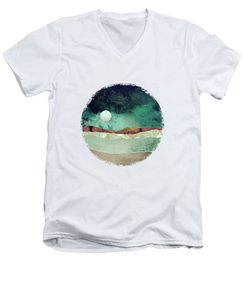 Spring Night Men's V-Neck T-Shirt