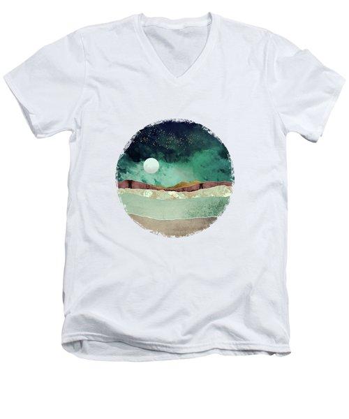 Spring Night Men's V-Neck T-Shirt