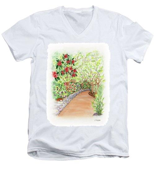 Spring Rhodies Men's V-Neck T-Shirt