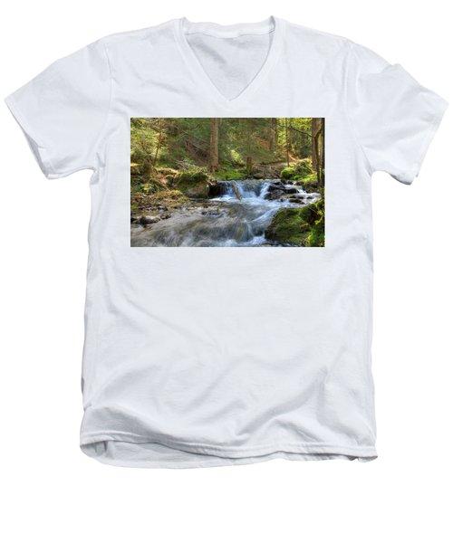 Spring Run Off Men's V-Neck T-Shirt