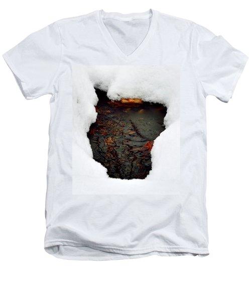 Spring Snow II Men's V-Neck T-Shirt