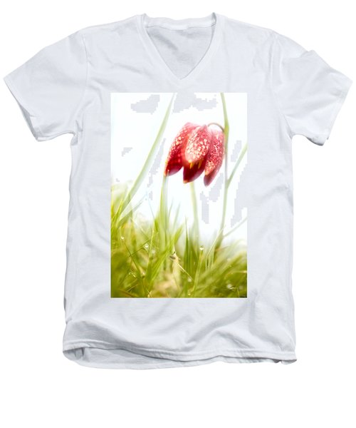 Spring Time Dreams Men's V-Neck T-Shirt by Dirk Ercken