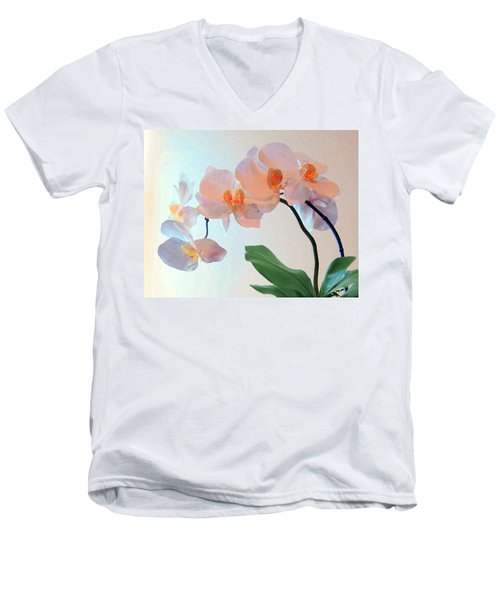 Springtime Delight 2 Men's V-Neck T-Shirt by Cedric Hampton