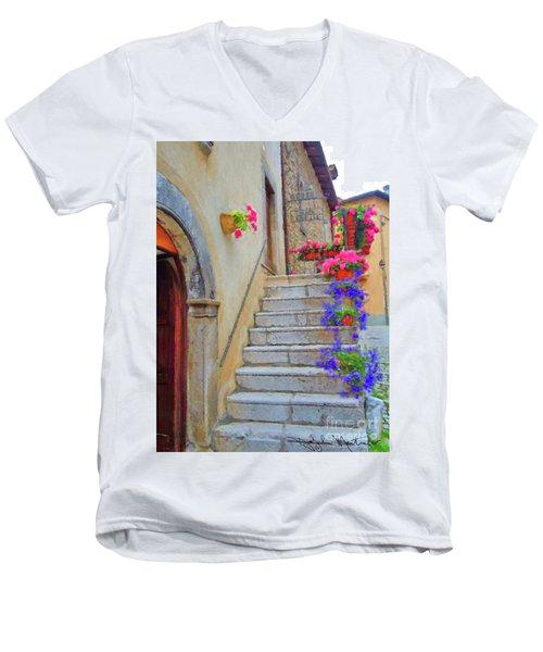 Springtime In Italy  Men's V-Neck T-Shirt