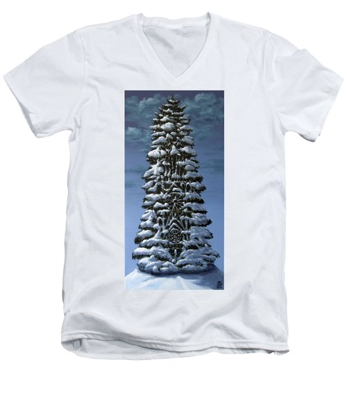 Spruce Men's V-Neck T-Shirt