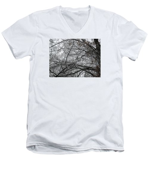 Spun Glass Men's V-Neck T-Shirt