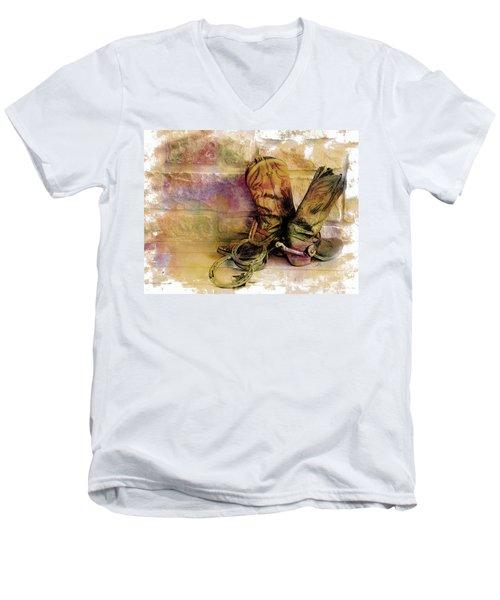 Spurs Men's V-Neck T-Shirt