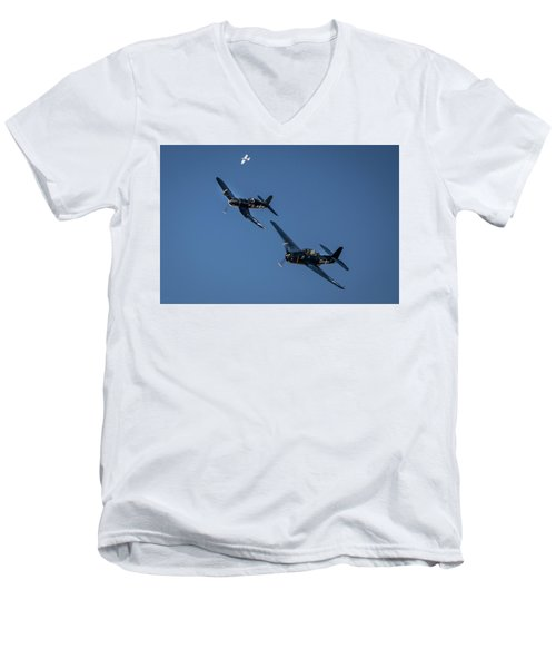 Squadron Men's V-Neck T-Shirt