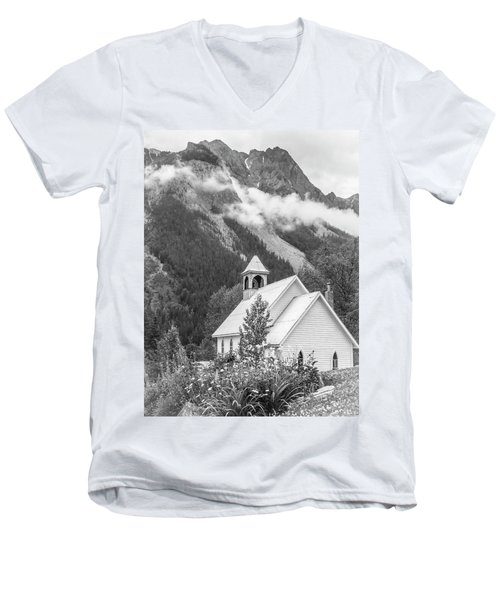 St. Joseph's Men's V-Neck T-Shirt
