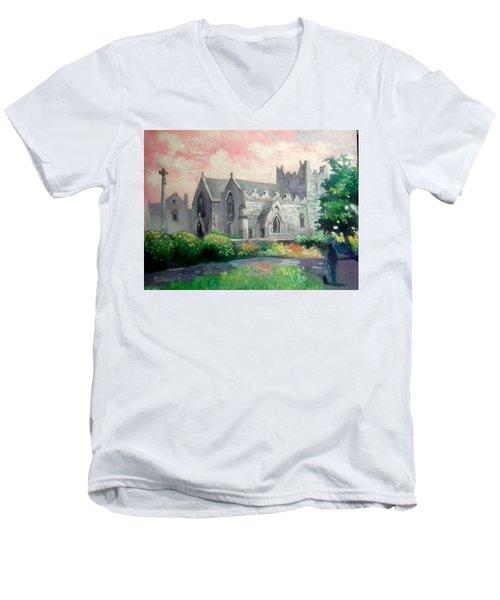 St Trinity Abbey Adare County Limerick Ireland Men's V-Neck T-Shirt