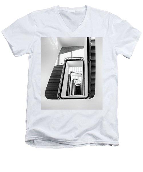 Staircase IIi Men's V-Neck T-Shirt