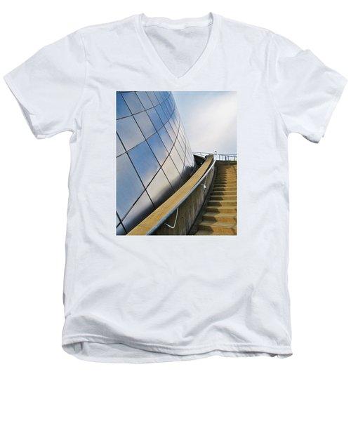 Staircase To Sky Men's V-Neck T-Shirt