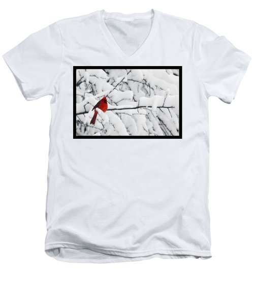 Men's V-Neck T-Shirt featuring the photograph Standing Out by Shari Jardina