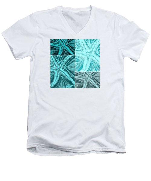 Starfish Pop Art Men's V-Neck T-Shirt