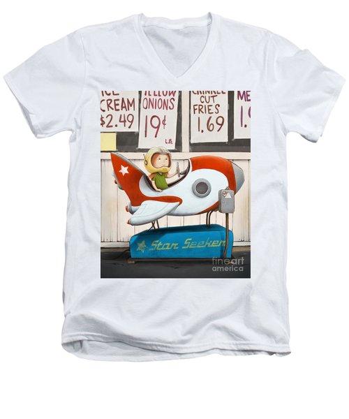 Star Seeker Men's V-Neck T-Shirt