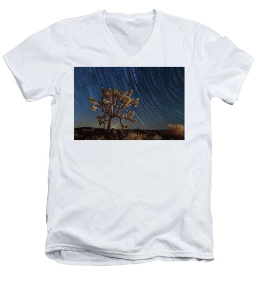 Star Spun Men's V-Neck T-Shirt
