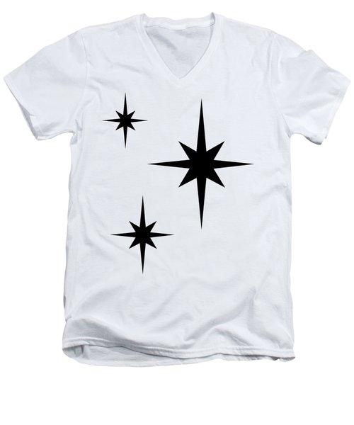 Starburst 2 Trio  Men's V-Neck T-Shirt