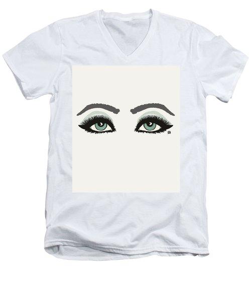 Starry Eyed Men's V-Neck T-Shirt