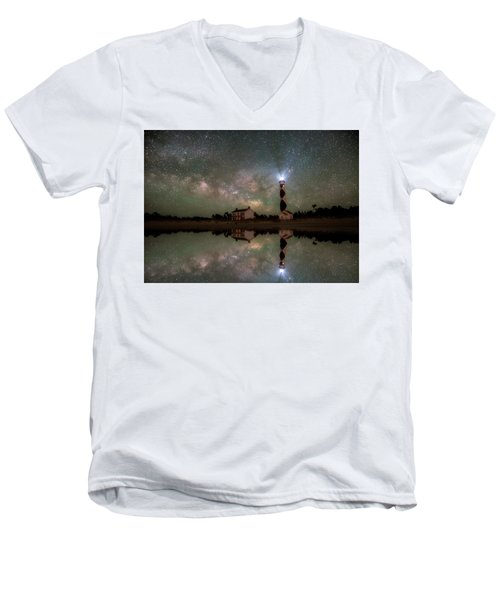 Starry Reflections Men's V-Neck T-Shirt