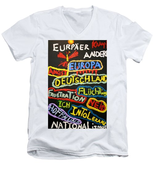 State Of Europe Men's V-Neck T-Shirt