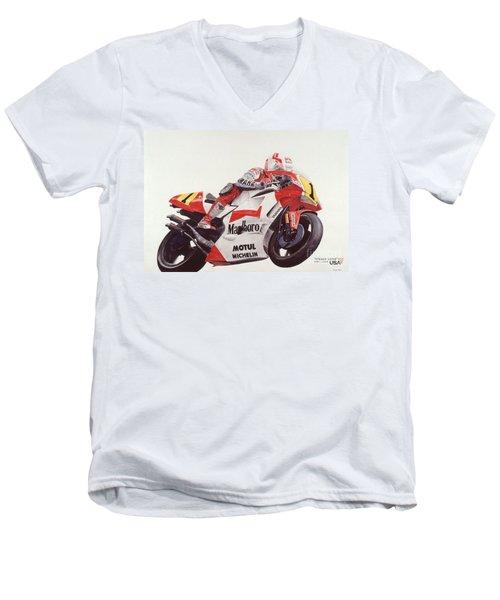 Steady Eddie Men's V-Neck T-Shirt