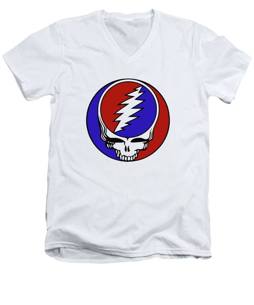 Steal Your Face Men's V-Neck T-Shirt