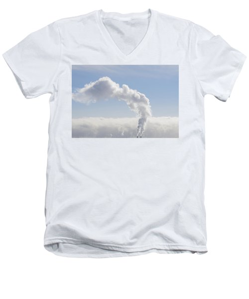 Steam Men's V-Neck T-Shirt