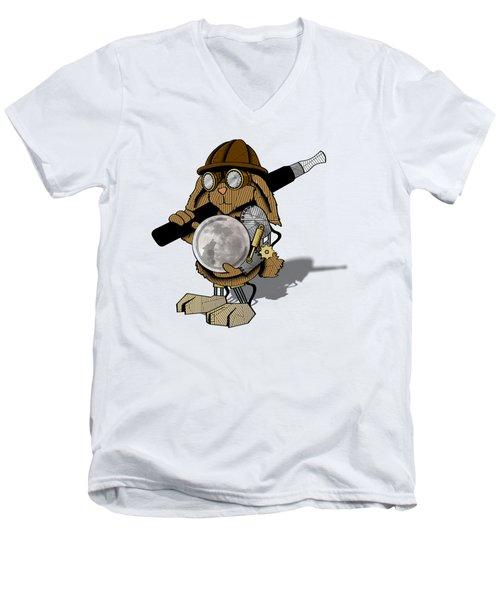 Steam Rabbit Men's V-Neck T-Shirt