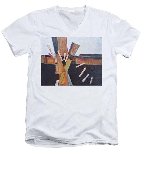 Stepping Up Men's V-Neck T-Shirt