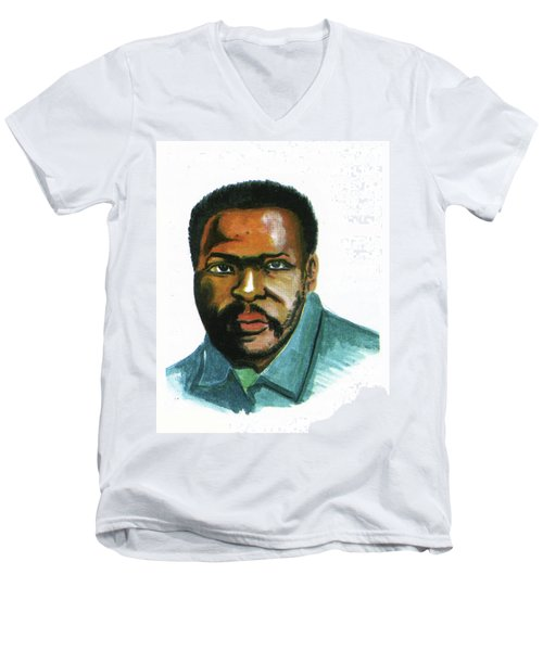 Steve Biko Men's V-Neck T-Shirt