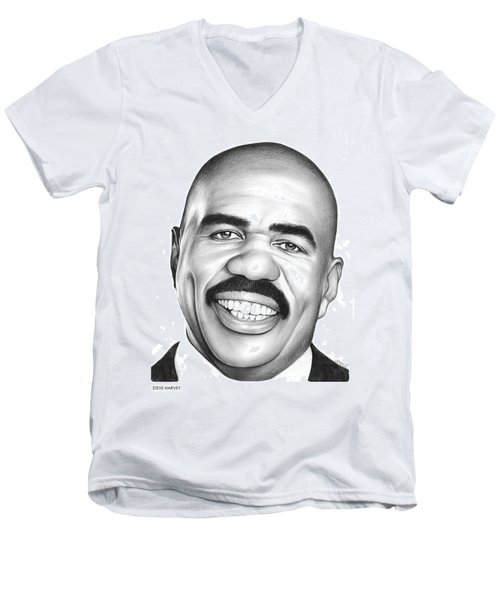 Steve Harvey Men's V-Neck T-Shirt