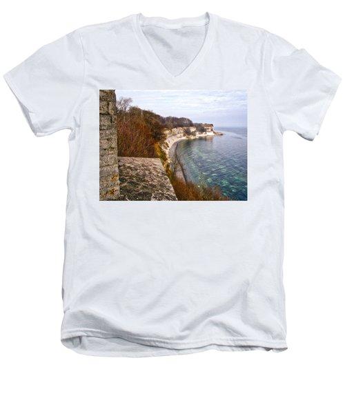 Stevns Klint Men's V-Neck T-Shirt