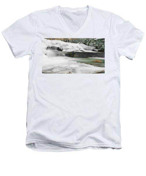 Stickney Brook Falls Men's V-Neck T-Shirt