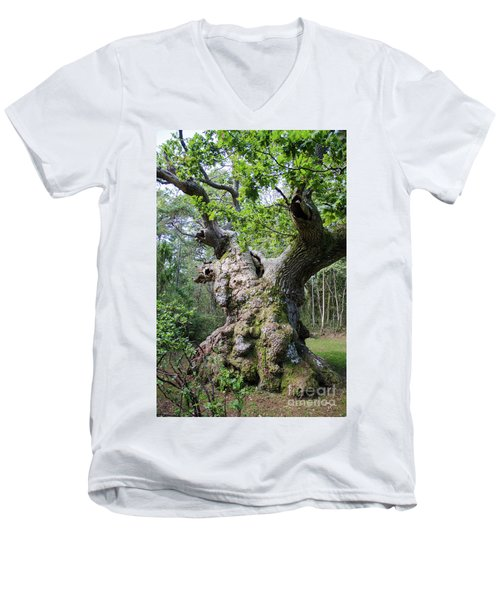 Men's V-Neck T-Shirt featuring the photograph Still Alive by Kennerth and Birgitta Kullman