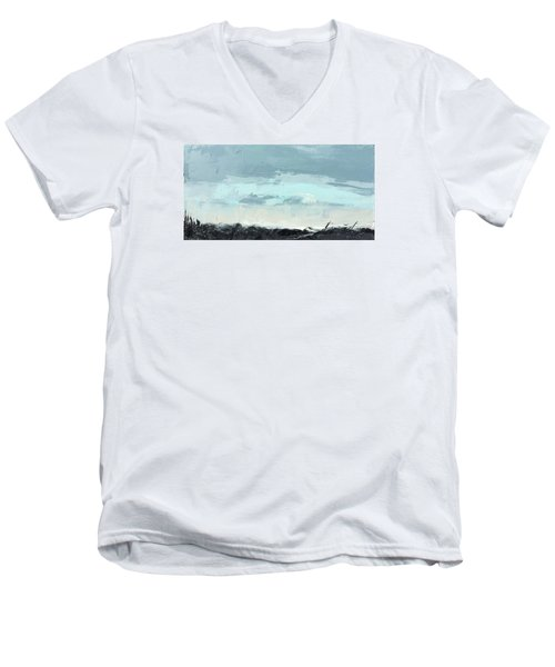 Still. In The Midst Men's V-Neck T-Shirt by Nathan Rhoads